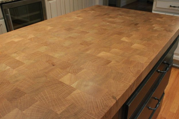 White Oak End Grain San Diego - The Countertop Company